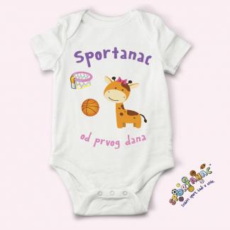 Bodići za bebe sa natpisima po vašem izboru.