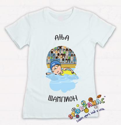 Majice za devojčice plivanje koje će motivisati vaše mališane da izaberu sportske aktivnosti. Sportanac