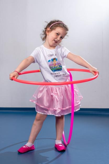 Gimnastičarka dečije majice, sve vrste majice o sportu na jednom mestu. Kvalitetne pamučne majice