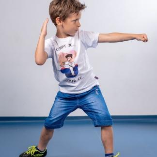 Dečije majice sa karate ilustracijama, karate, sportanac, izaberi sport, dečiji sport, sportić