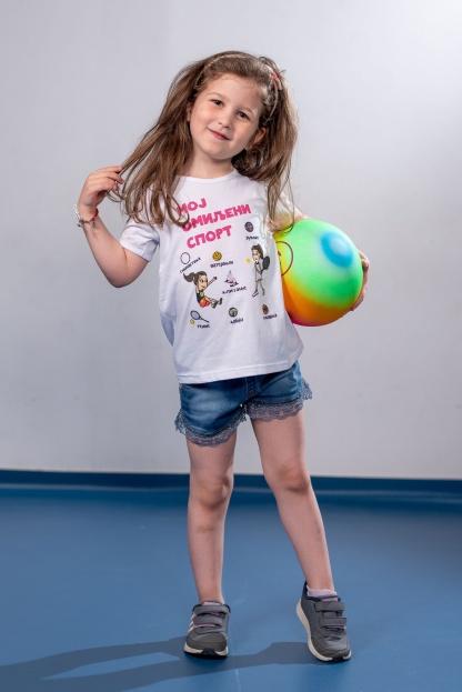 Majice za devojčice sportanac, dečije majice o sportu na jednom mestu.