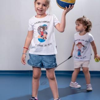 Majice za devojčice rukomet, rukometašica od glave do pete.