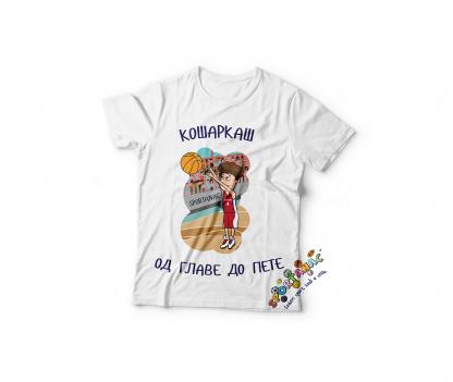 Dečije majice sa košarkaškim ilustracijama, košarka, sportanac, dečiji sport, košarkaši