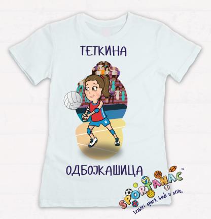 Majice za devojčice odbojka, sportske majice za decu sportanac.