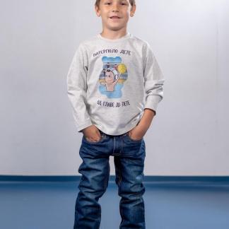 Vaterpolista dečije majice sportanac, dugi rukav majice za decu.