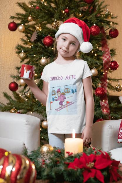 Majice za devojčice zimsko dete, sportanac majice