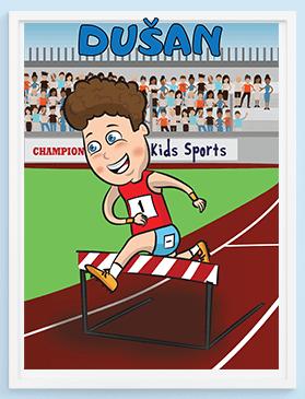 Posteri za decu, motivacione i poučne poruke za vaše mališane. Sportanac posteri
