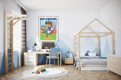 Poster za dečake bejzbol. Pogledajte veliki izbor sportksih postera na sportanc sajtu.