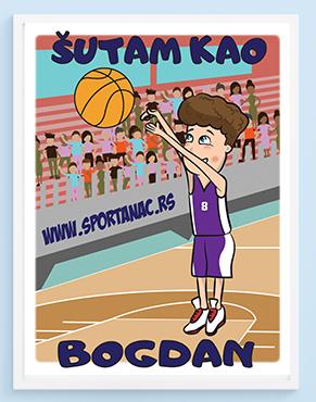 Posteri za decije sobe šutam kao Bogdan