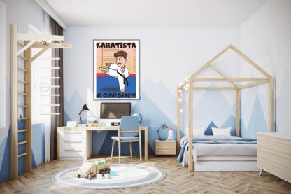Posteri za dečije sobe karatista