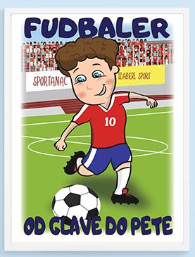 Fudbaler od glave do pete posteri za dečake