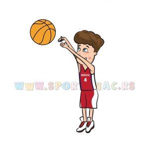 Sportske ilustracije za decu, košarka. Sportanac