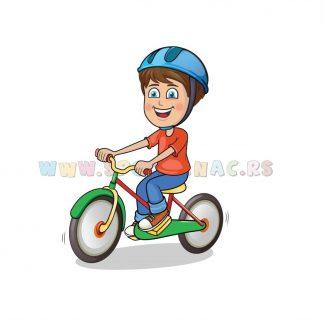 Sportske dečije ilustracije, biciklizam. Sportanac
